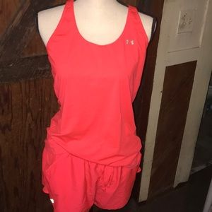 Under arm-our heat gear outfit